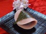 関東風 焼き皮の桜餅