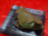 かしわ餅(粒あん)
