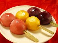 葛餅アイス(苺・みかん・巨峰)