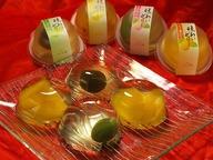 味わいゼリー(夏みかん・若桃・パイン・梅)